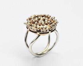 RICCIO anello ciondolo fibbia argento bronzo