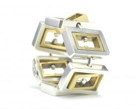 modulando rettangolo aureo-argento-bronzo regolata