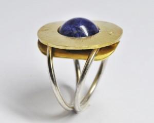 anello fibbia ciondolo bronzo argento lapis