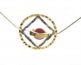 bronzo acciaio corniola regol.