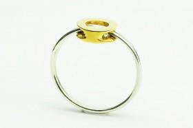 Anello modulare bronzo argento (3)