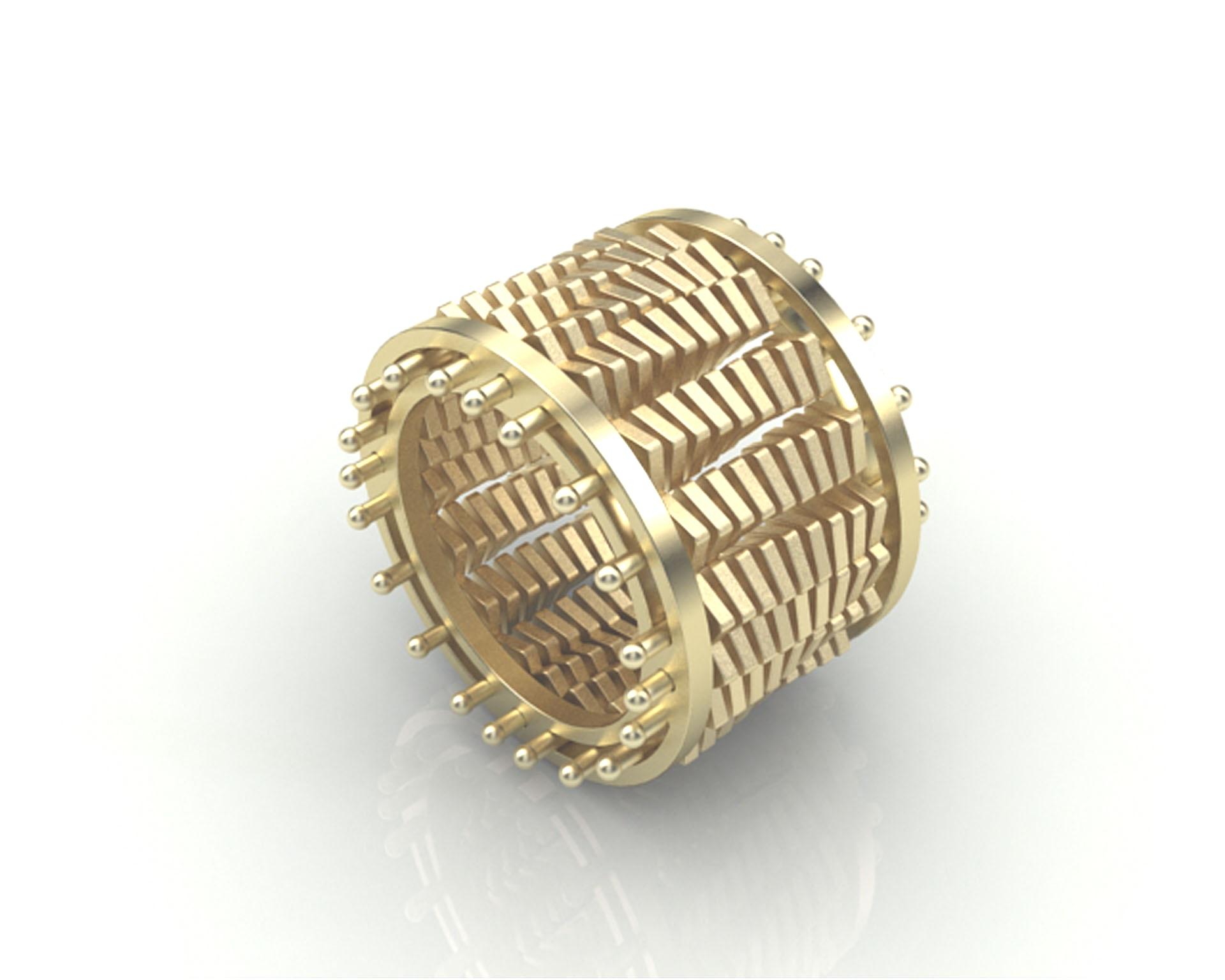Rendering anello Om