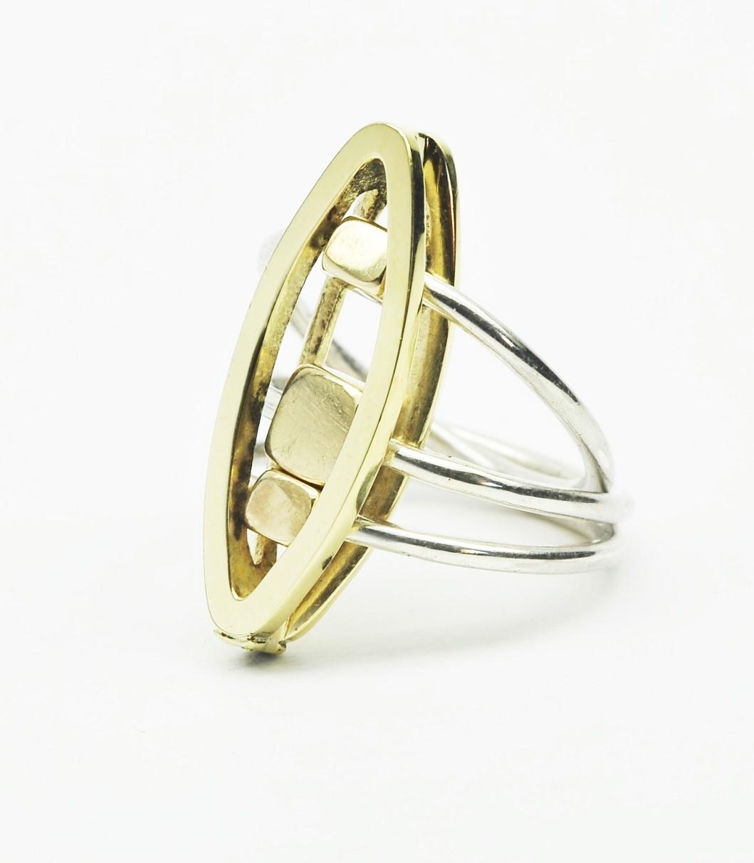 Anello modulare ovale